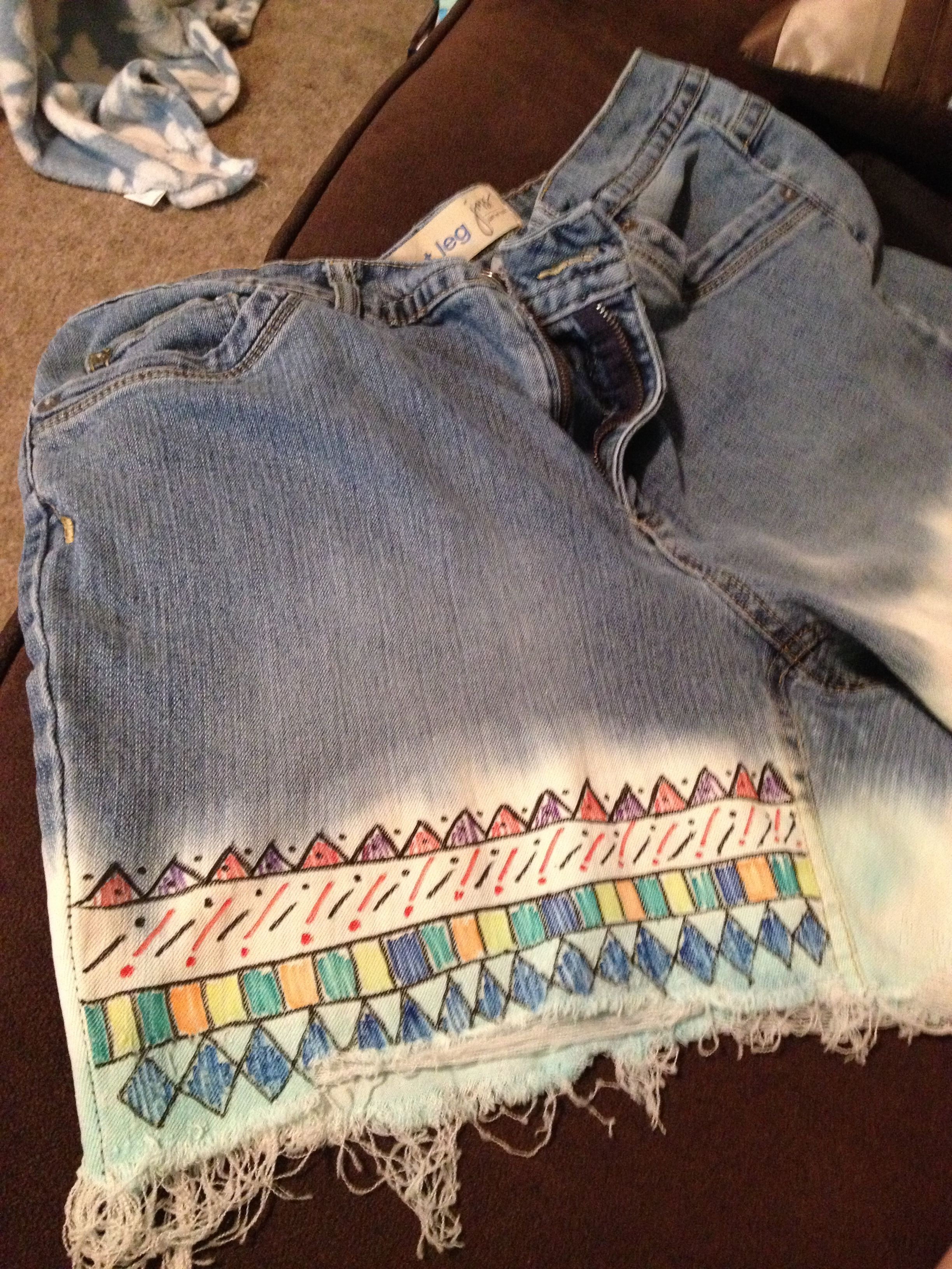 Re Those Old Blue Jeans You Never Wear In Your Closet Cut Off Where