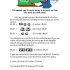 My 4th grade students were having trouble remembering how to make change. This worksheet gives students step by step instructions on how they can m...