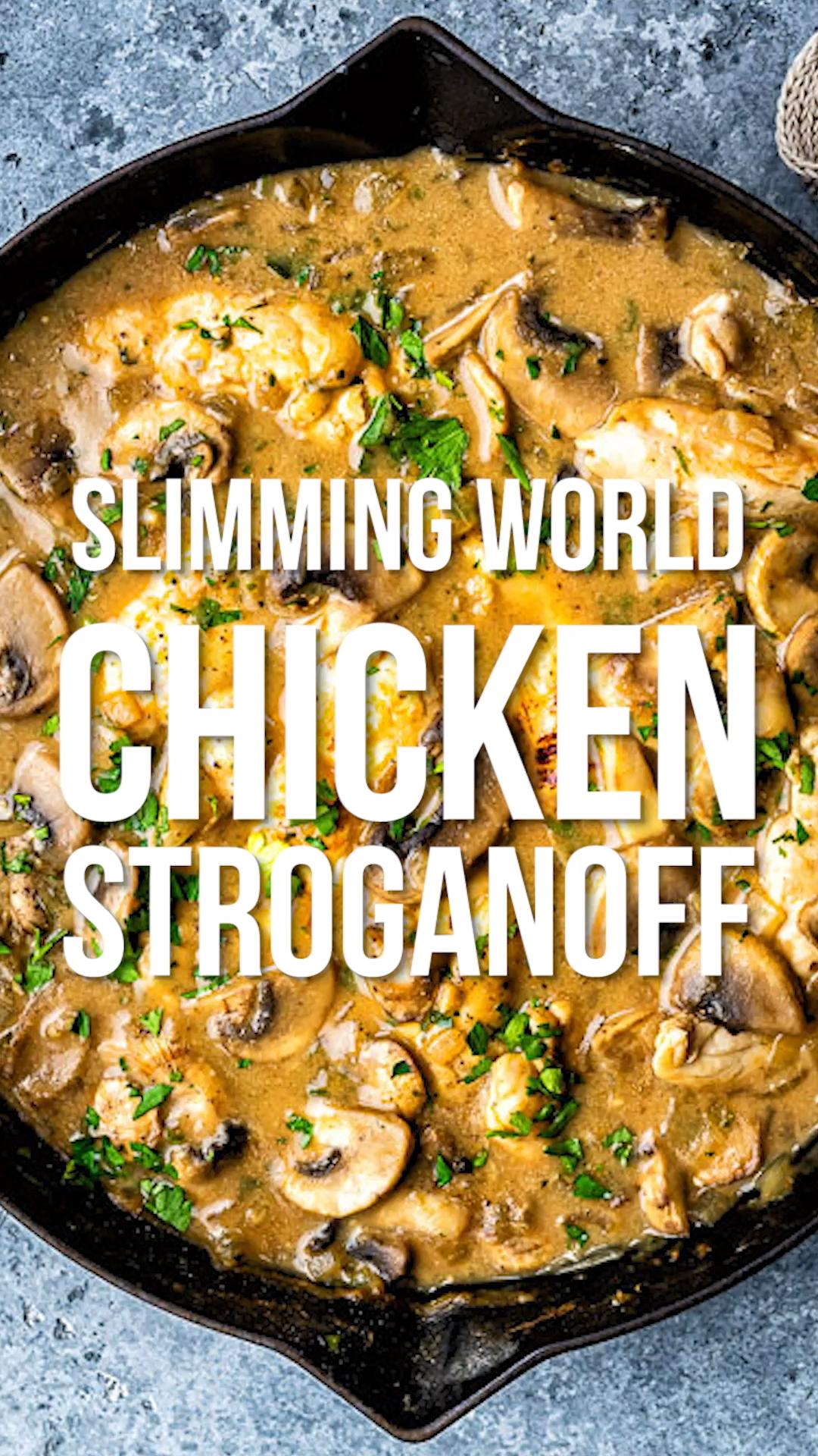 Chicken Stroganoff Slimming World Recipes Chicken Recipes Slimming Stroganoff World Chicken Recipes Easy Chicken Recipes Chicken Stroganoff
