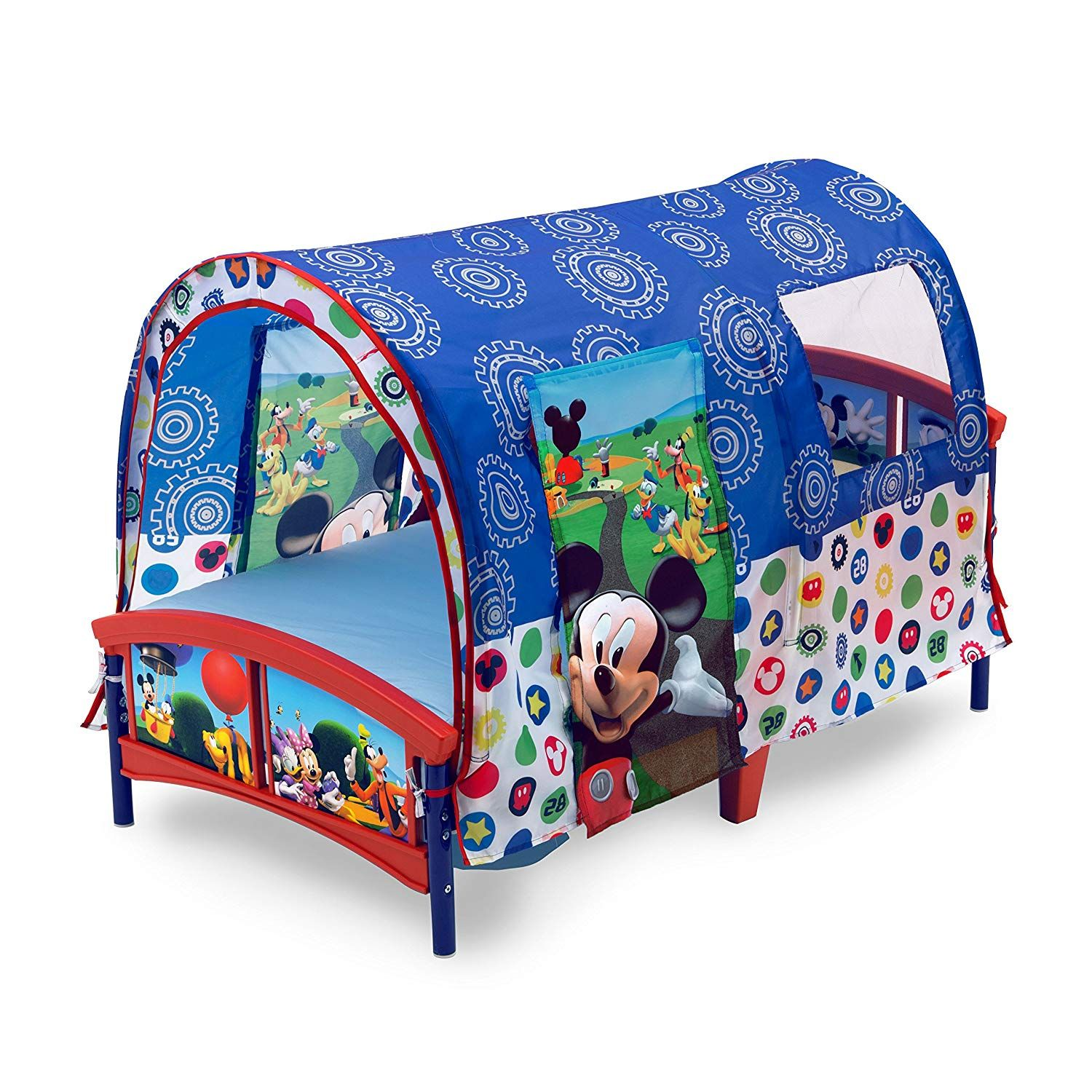 Mickey Mouse Toddler Tent Bed | Mickey and minnie bedrooms ideas