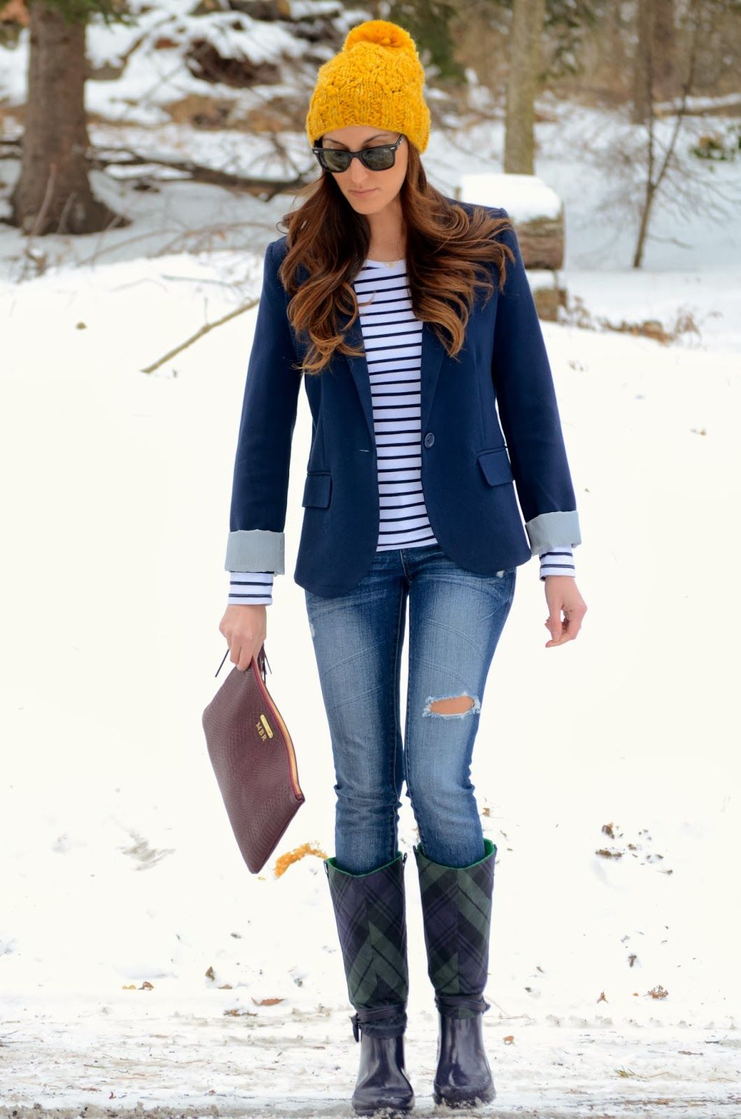 #winter #styles #hats Loving hats this season! Look cute ...