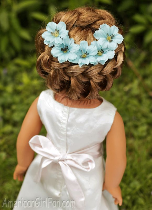 Doll Hairstyle How To Do A Circle Braid Americangirlfan -7036