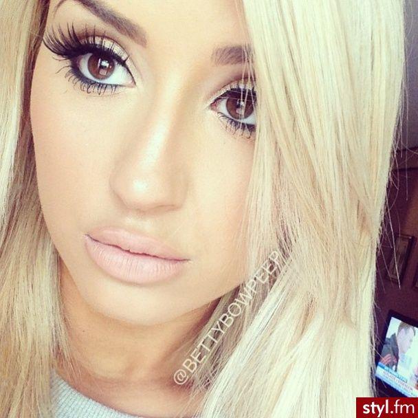 Make up fur blonde haare braune augen