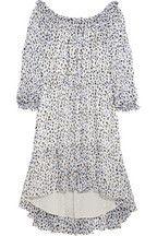 Diane von Furstenberg|Camila printed silk-chiffon dress|NET-A-PORTER.COM