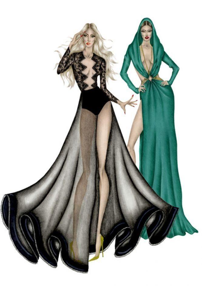 promo code d7bfd 222a1 March 2015 Istituto di Moda Burgo   moda elbise çizimleri ...