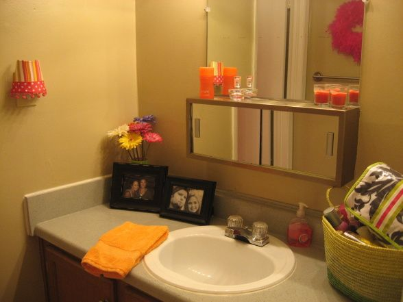 Plain Apartment Bathroom Ideas On With