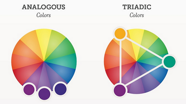Analagous Colors Vs Triadic