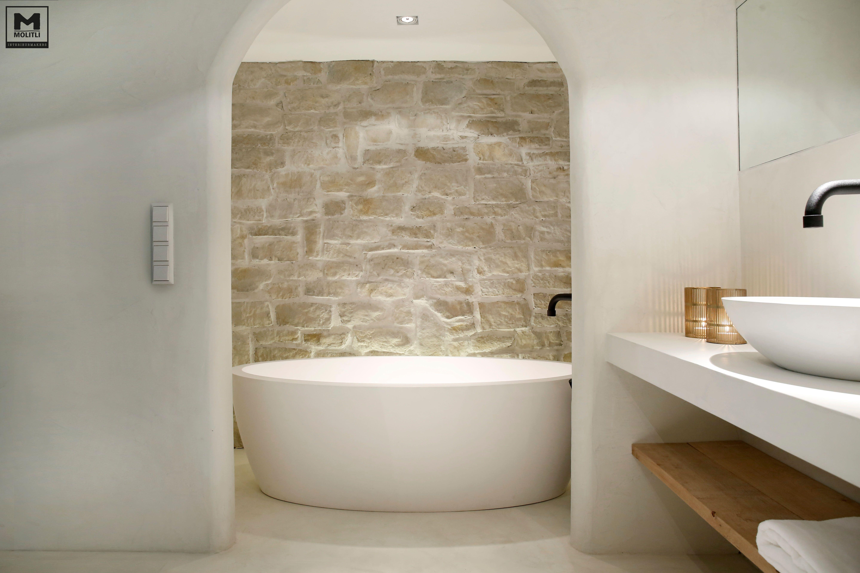 Badkamer betonstuc badkamer salle de bain salle en appartement