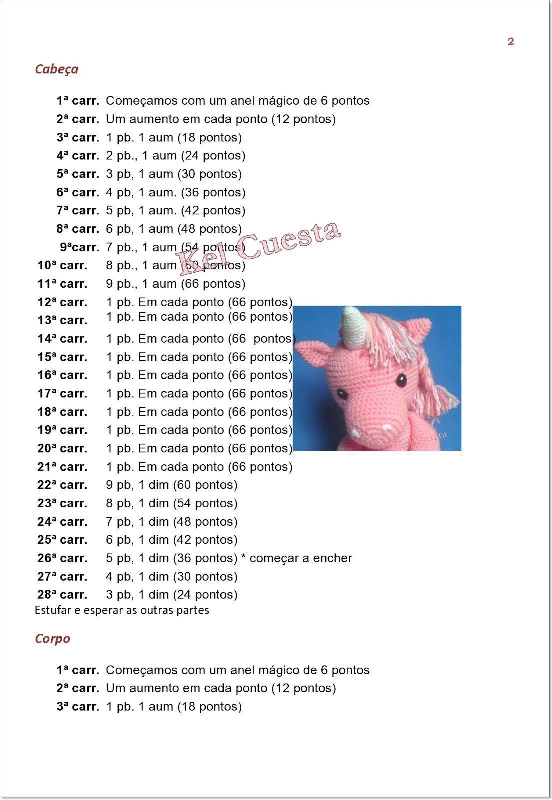 unicornUnic%C3%B3rnio+Rosa-page0002.jpg 1.105×1.600 pixels   планы ...