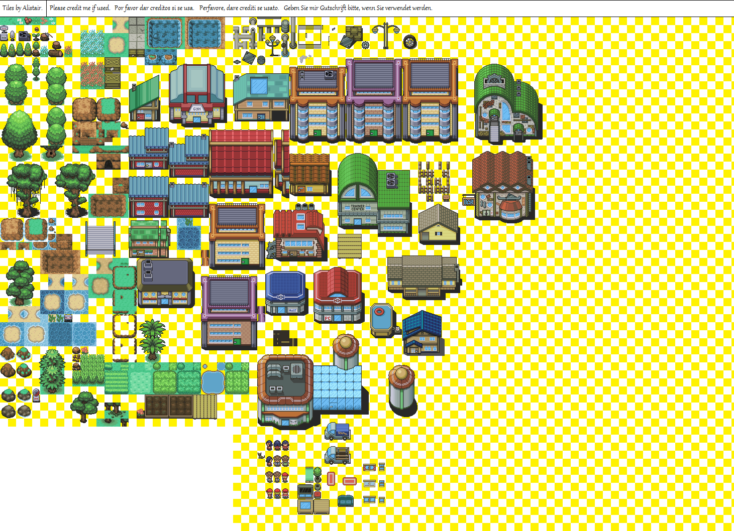 pixel tile set에 대한 이미지 검색결과