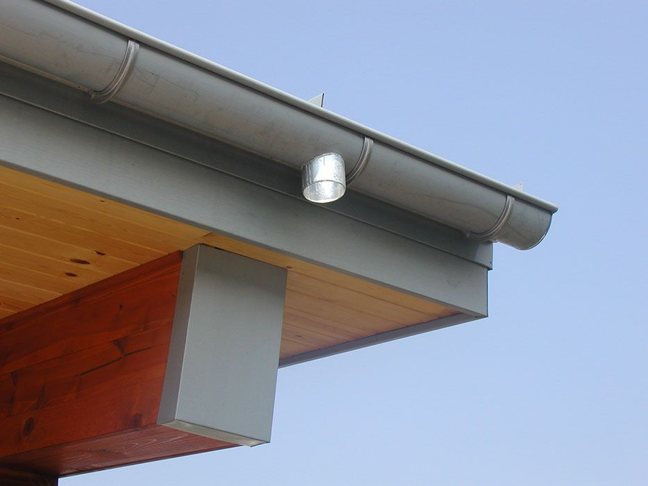 Zinc Gutters By Dynamic Gutters Getaway Homes Roof