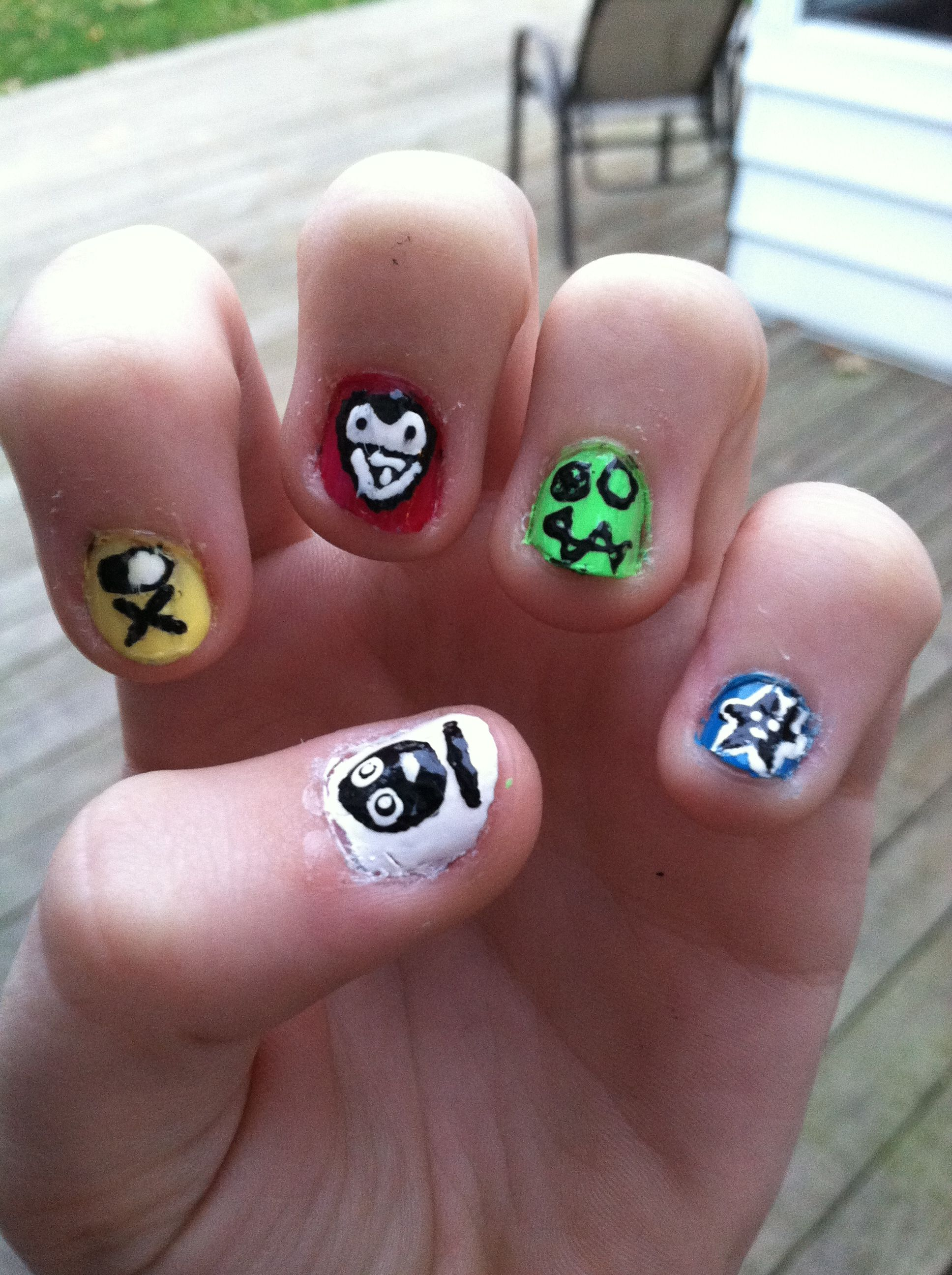 My killjoy nail art!