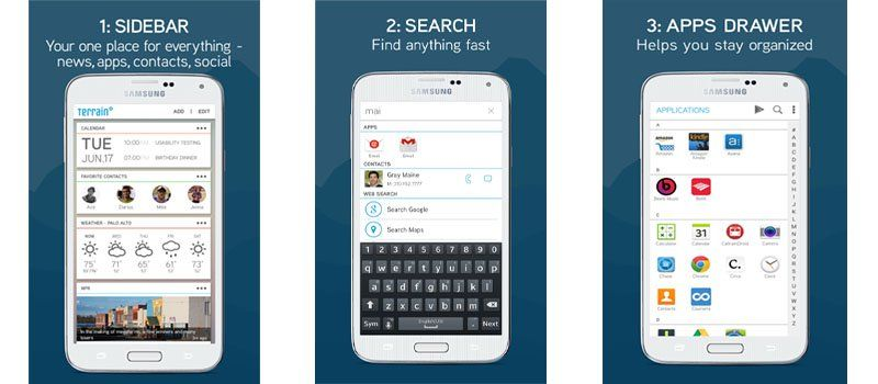 Samsung launches Terrain Home, an Android launcher app with
