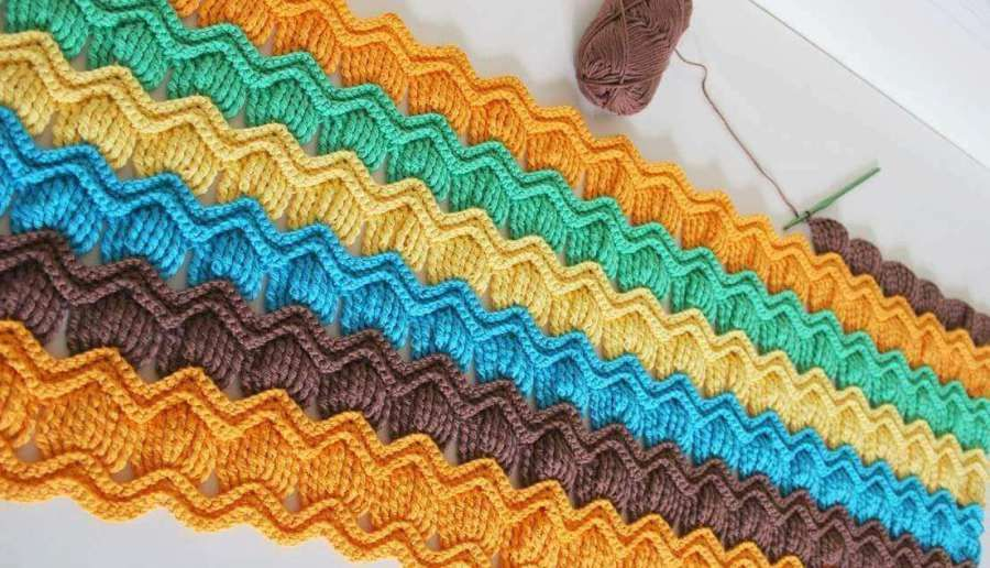 The Bavarian Square Is A Great Challenge For An Intermediate Crochet