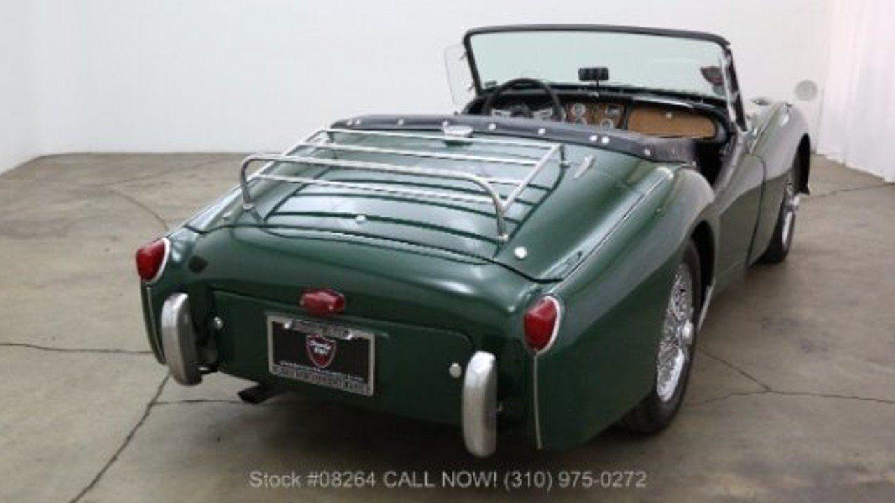 1956 Triumph TR3 for sale near Los Angeles, California 90063 ...