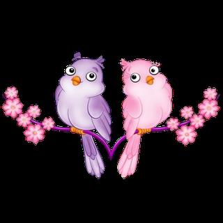 Love Birds Clip Art Love Birds Cartoon Animal Clip Art Susse Kunst Vogel Zeichnen Vogel Kunst
