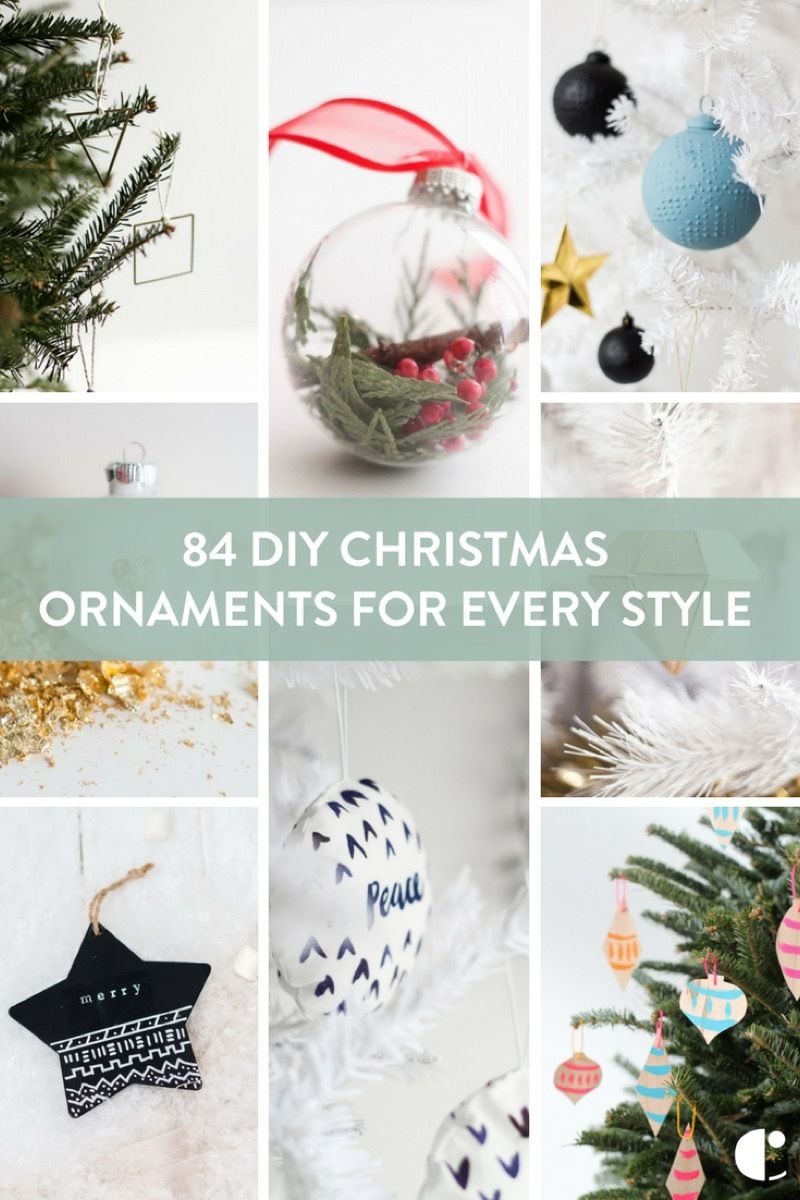 84 do it yourself ornaments you can make before christmas - Do It Yourself Christmas Ornaments