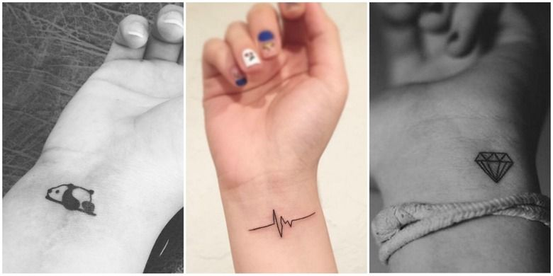 Małe Tatuaże Na Nadgarstku Instagram Tablica Tattoos