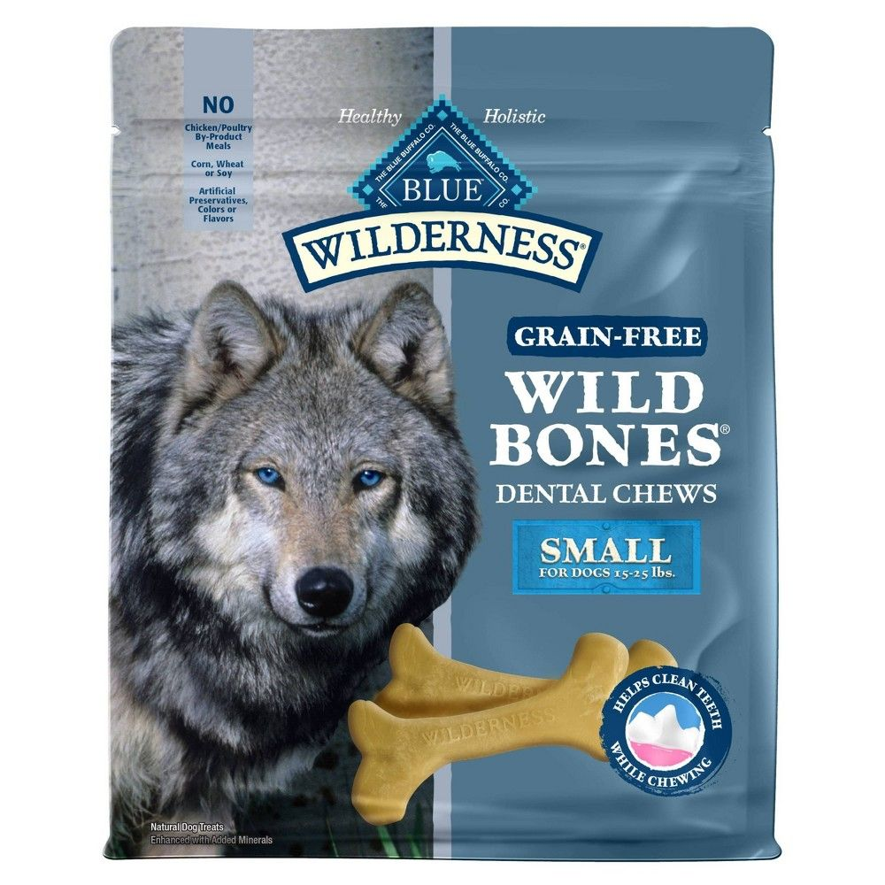 Blue Buffalo Wilderness Bones Small Dog Treats 27oz Dog Chews