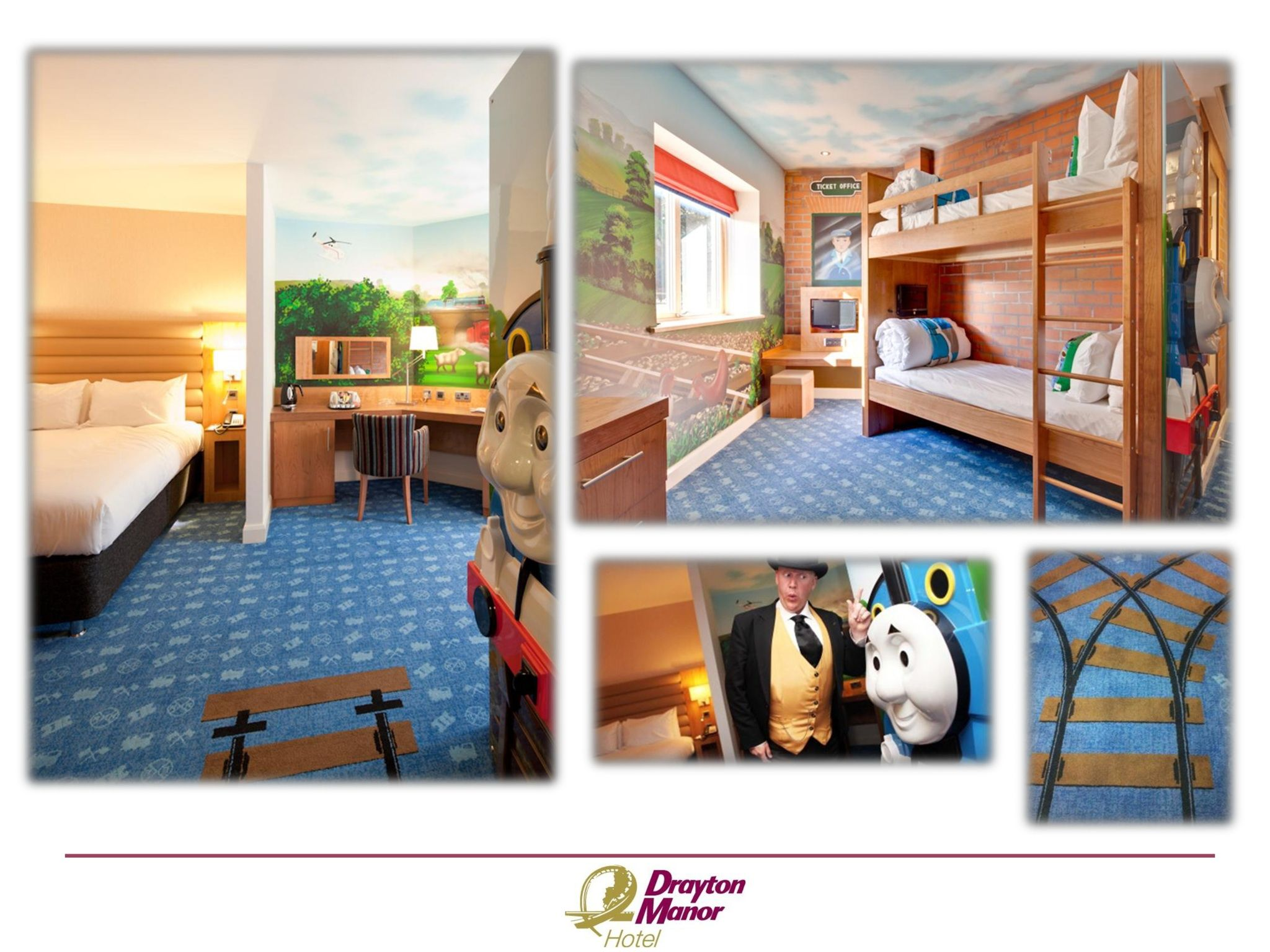 Pin by Drayton Manor Hotel on Thomas and Friends themed rooms ...