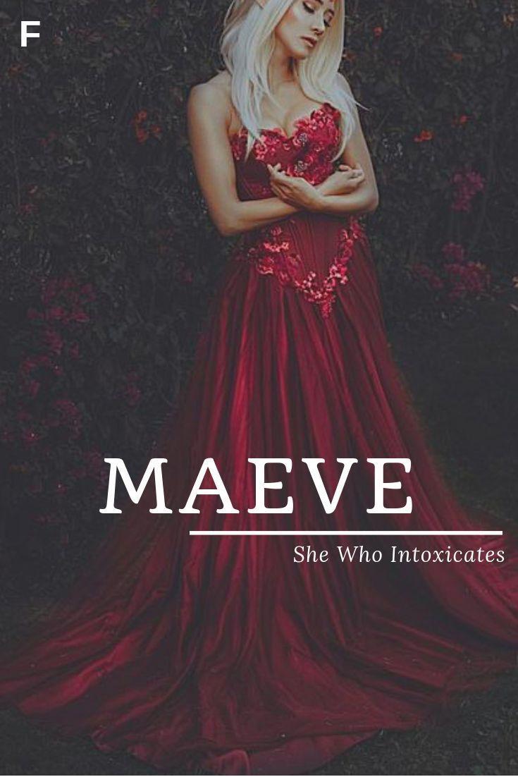 Maeve Bedeutet Sie Die Irische Namen Berauscht M Babynamen M