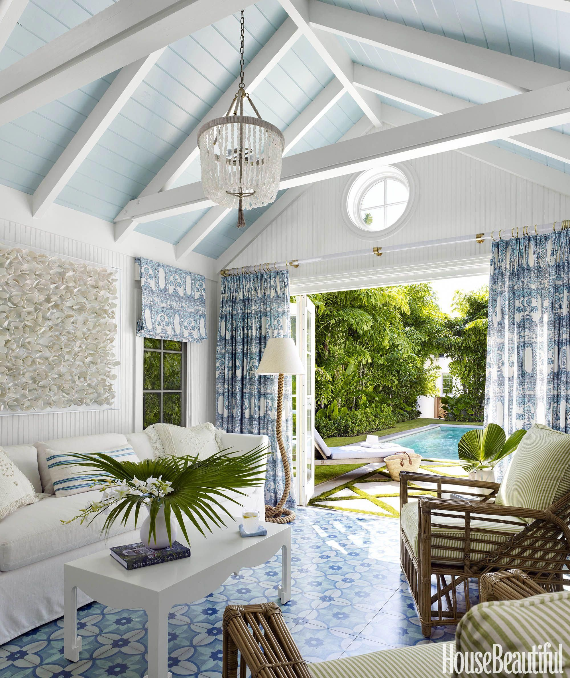 The Perfect Pool House — Beth Lindsey Interior Design