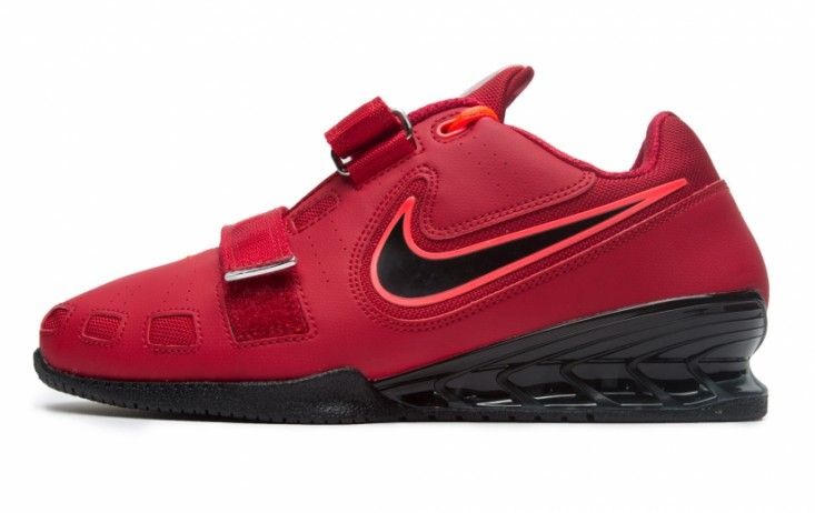 Powerlifting · 189 12.5 Nike Romaleos 2 Weightlifting Shoes - Red / Hyper  Crimson / Black | Rogue