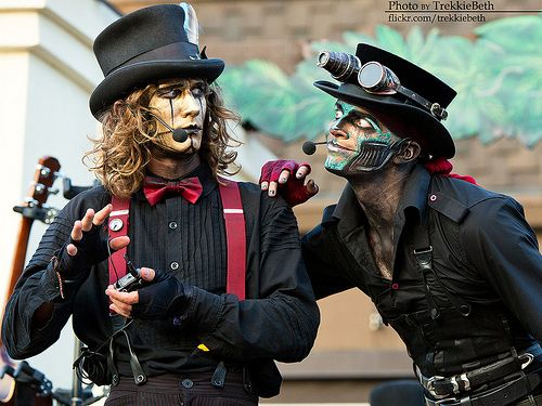 How The F Ck Do I Dress Like A Steam Powered Giraffe Steam Powered Giraffe Imagine Dragons Fans Tumblr Funny