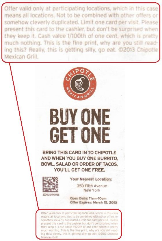 Groupon Resume Chipotle Coupon Fine Printcheeky Chipotle  Pinterest