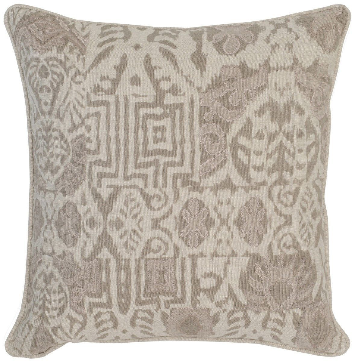 Leon ivorypebble x pillow design by villa home products