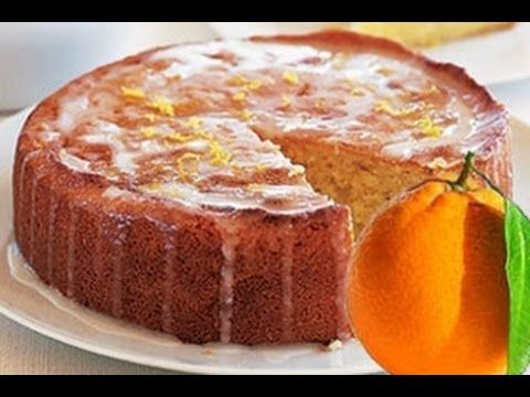 Torta all' arancia , ricetta facile - YouTube