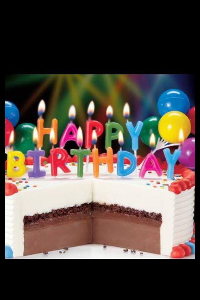 Happy Birthday Dq Cake Letreros Pinterest Birthday Greetings