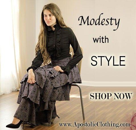 c7b532ac95 Fashionable Modest and Trendy Clothing - Apostolic Clothing Co ...