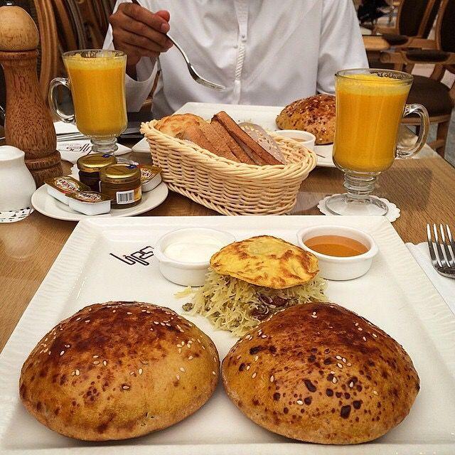 فطور خليجي Gulf Breakfast Breakfast Food Bread