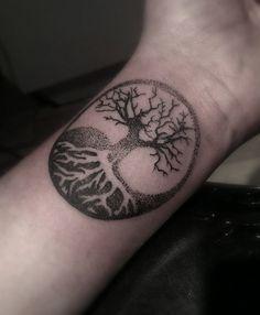 Yggdrasil Tattoo Google Search Tattoos Tatuajes