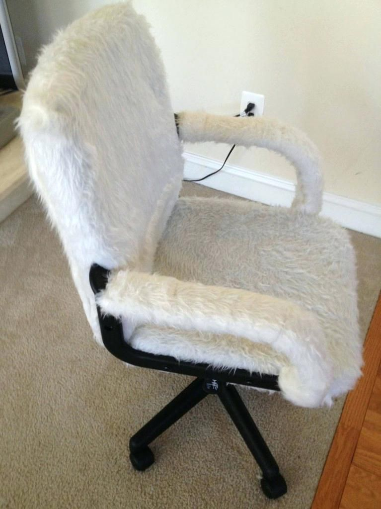 Groovy Office Chair Cover White Fuzzy Desk Chair Awesome Chair Machost Co Dining Chair Design Ideas Machostcouk