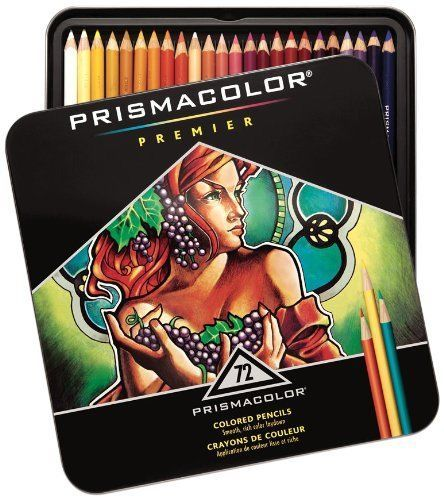 Prismacolor Pro Premier Soft Core Colored Pencils 72 pices Professional Set #Sanford