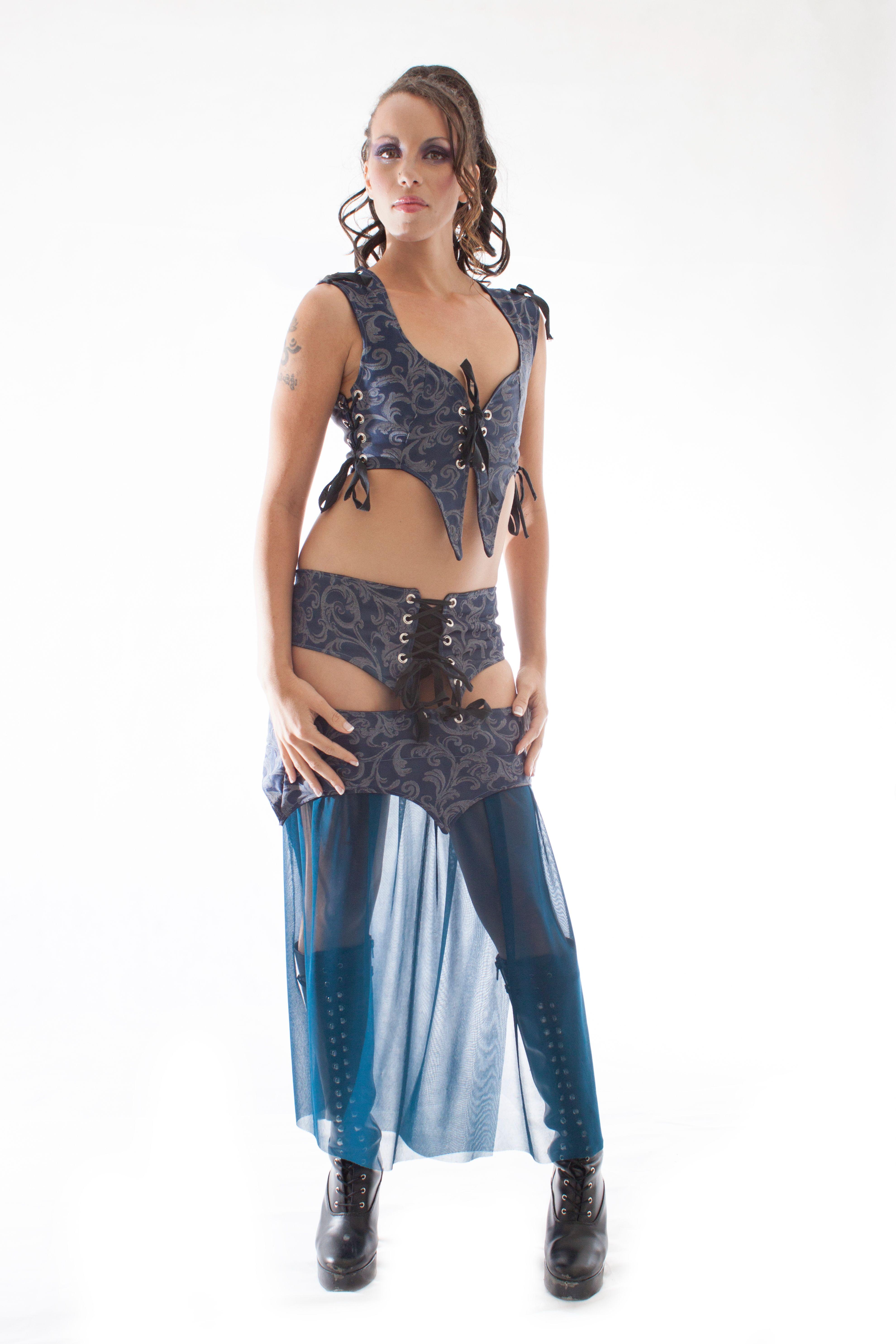 Blue Gypsy Dream Outfit by Firelight Fashions. www.firelightfashions.com