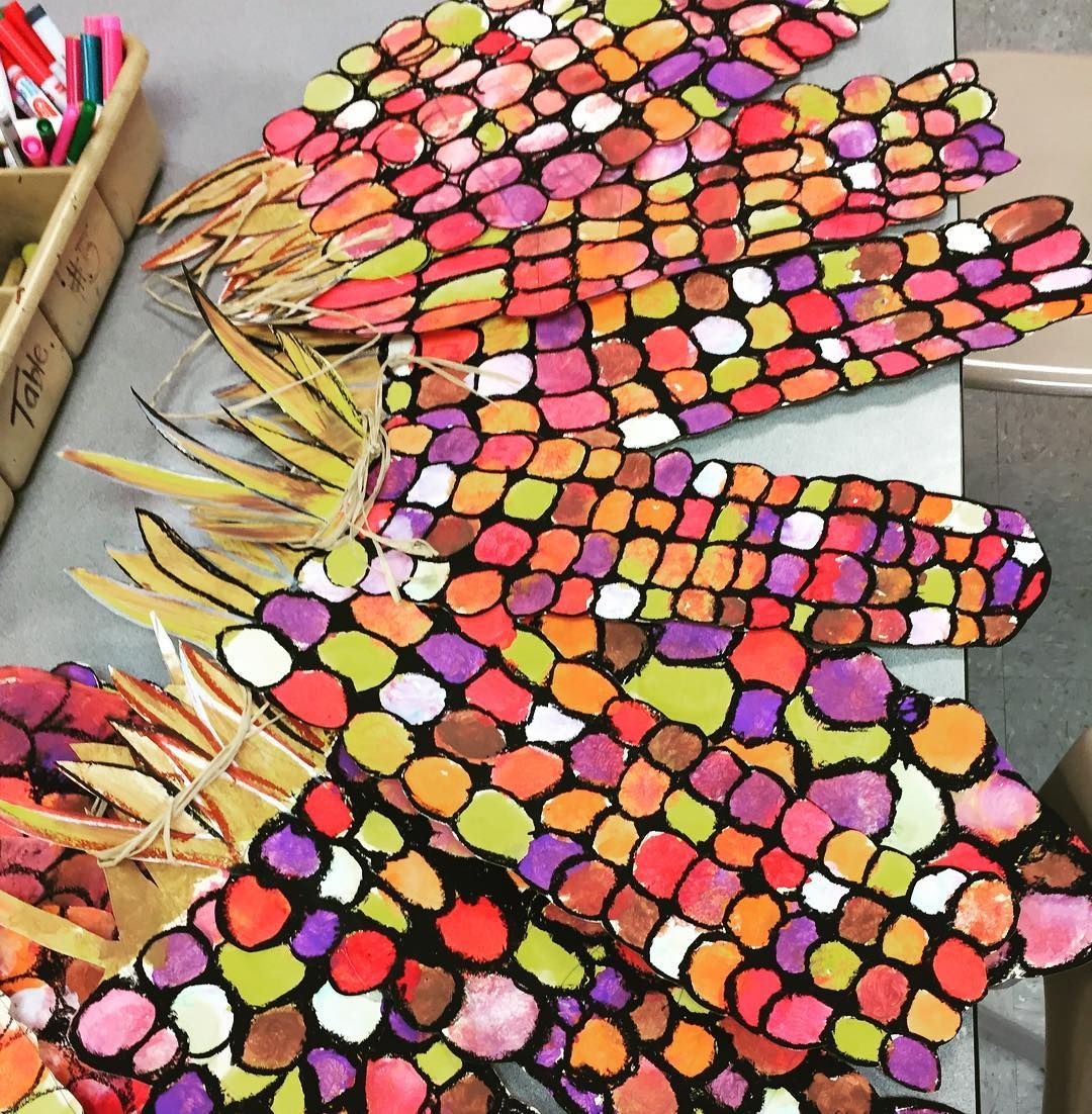 This Indian Corn Turned Out Awesome I Can T Wait To Display It Fifthgrade Elementaryart