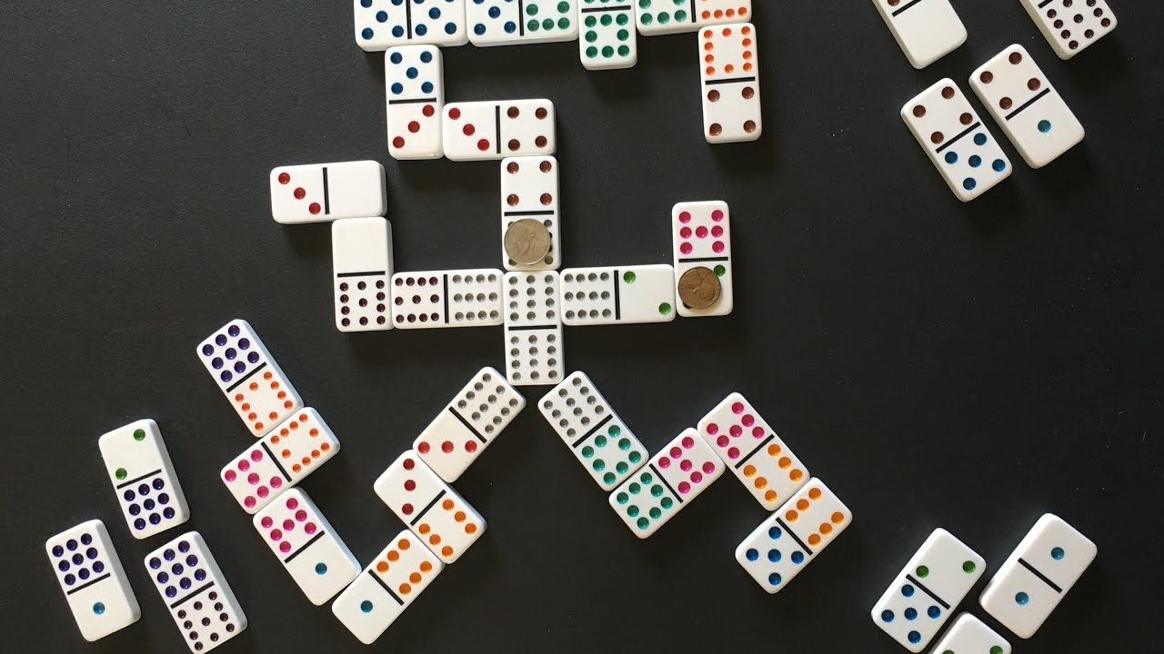 How To Play Mexican Train Mexican train dominoes, Domino