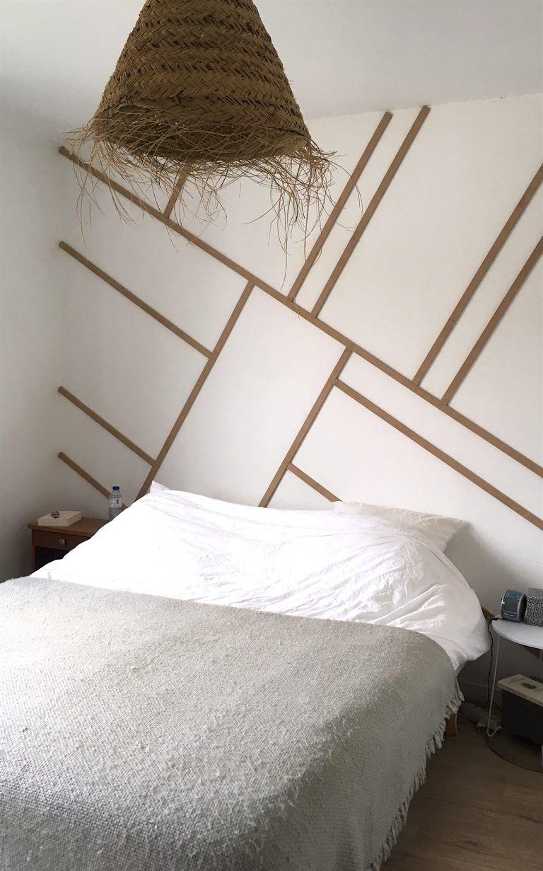 Diy 8 Idees De Tete De Lit Deco Pour S Inspirer Tete De Lit Design Idee Chambre Deco Chambre Parental