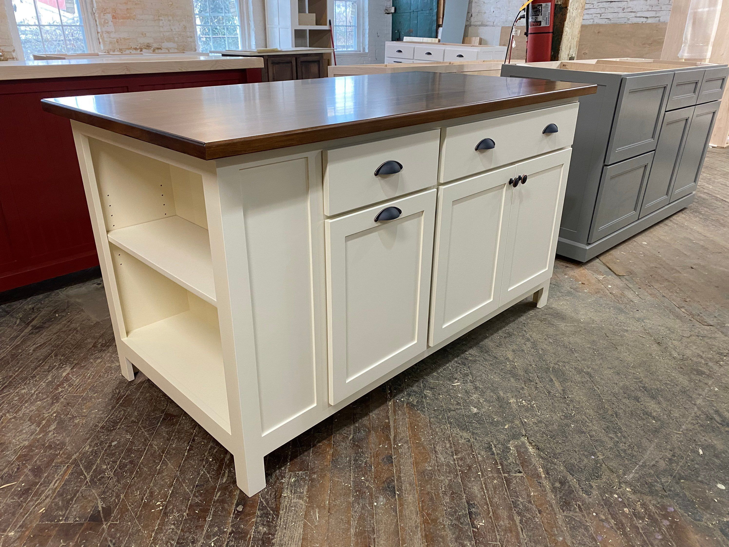 Item E1040 Kitchen Island Cabinet Farmhouse Custom Kitchen Etsy In 2020 Kitchen Island Cabinets Custom Kitchen Island Custom Kitchen