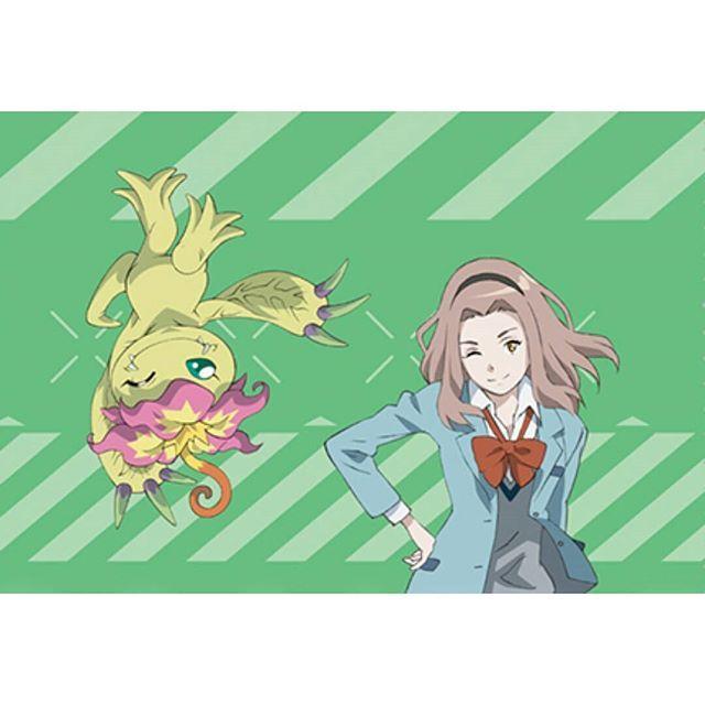 Mimi Tachikawa and Palmon #DigimonAdventure | Digimon