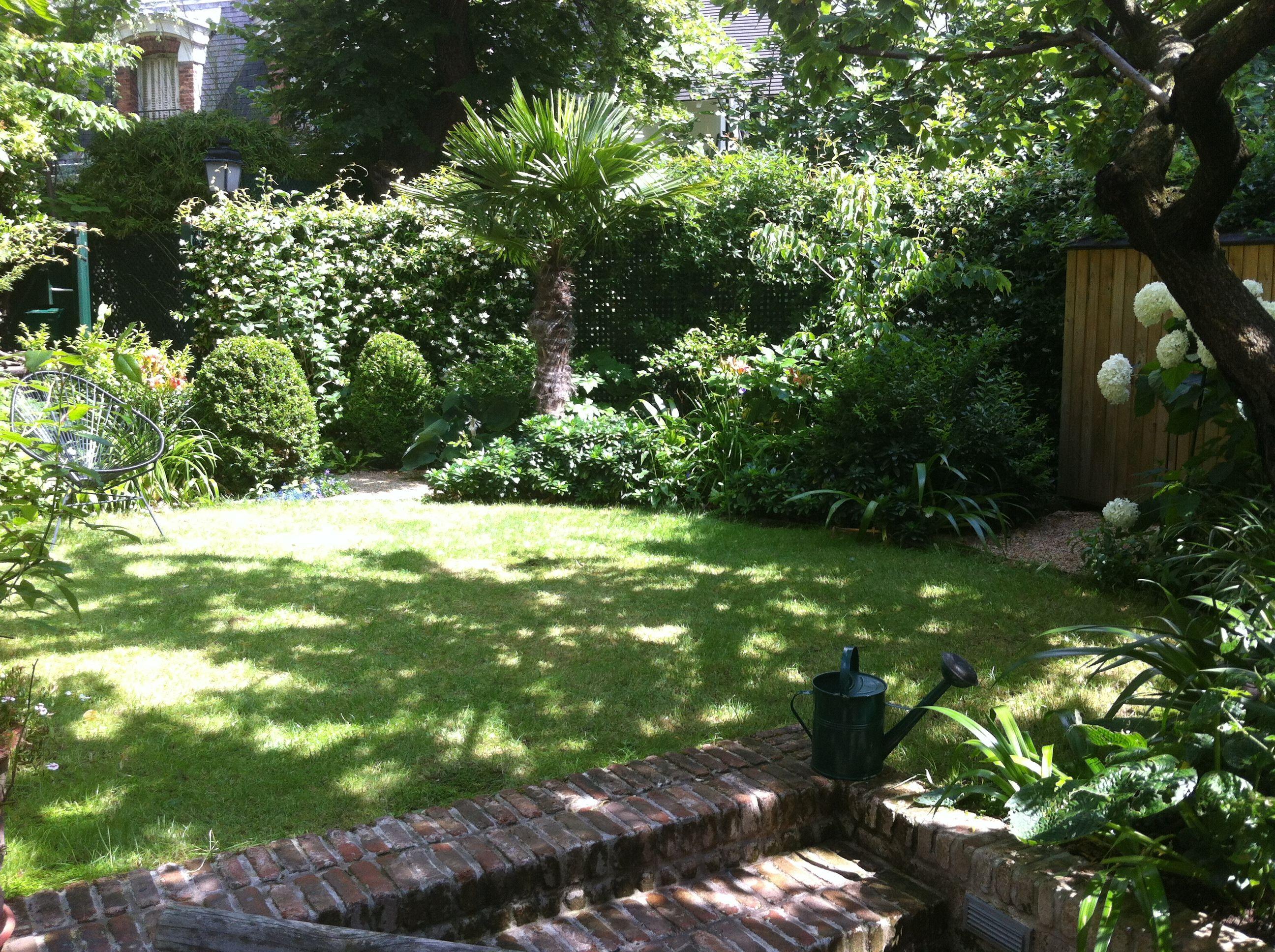 Un jardin dépaysant et ressour§ant en plein cœur de Paris aménagé