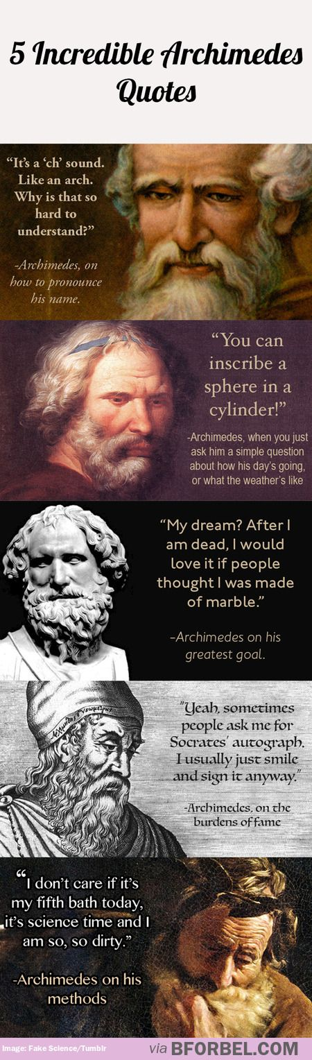 A Rather Amusing Example Of How Archimedes Is Portrayed In Modern  A Rather Amusing Example Of How Archimedes Is Portrayed In Modern Society