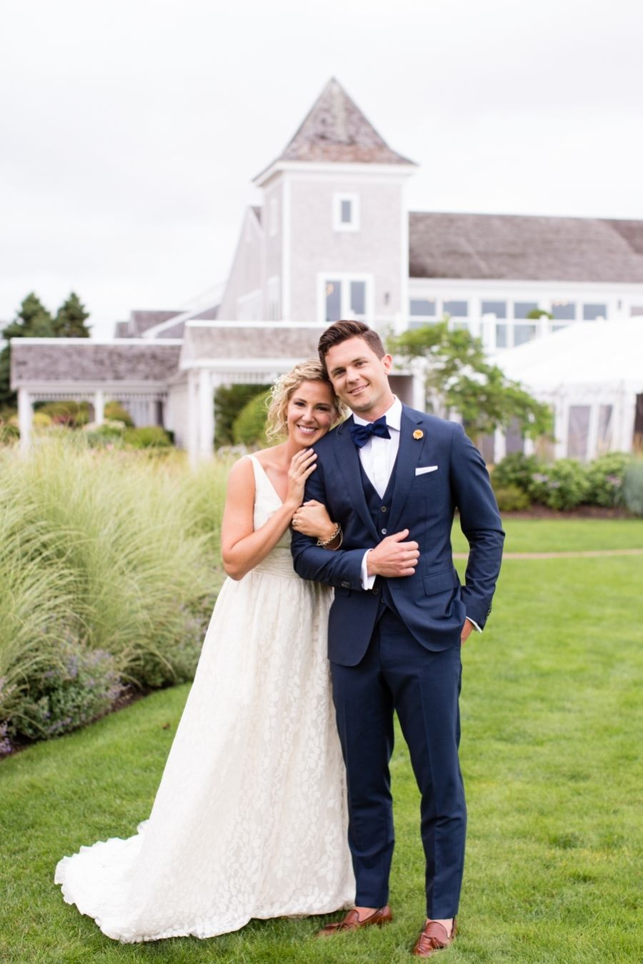 Romantic Oceanside Cape Cod Wedding