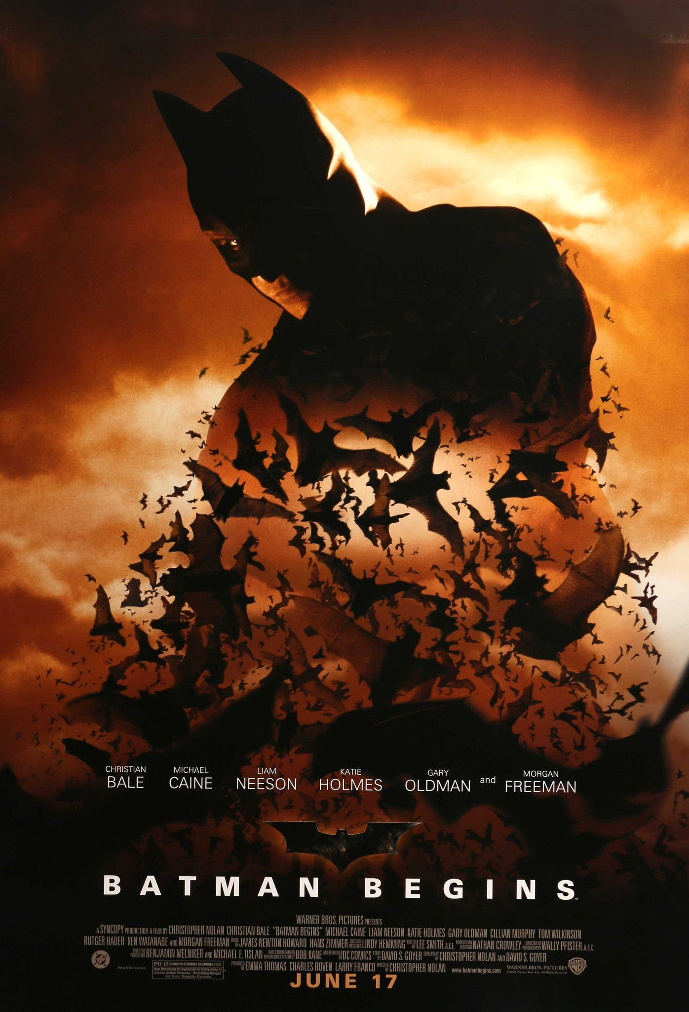 batman begins 2005 batman films and movie