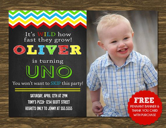 Uno Birthday Invitation Printable Free Pennant Banner And