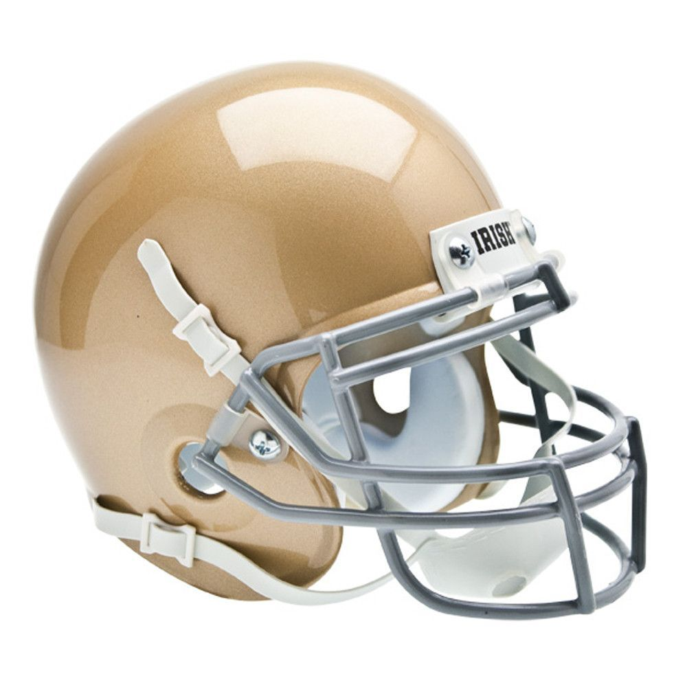Notre Dame Fighting Irish NCAA Authentic Mini 1/4 Size Helmet