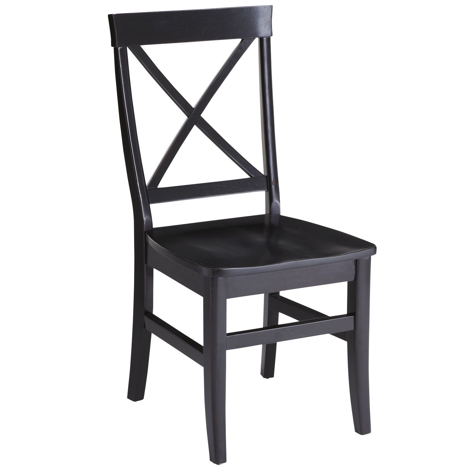 Torrance Rubbed Black Dining Chair
